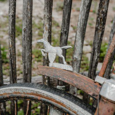 Das alte Fahrrad von unserem Freund Michl
