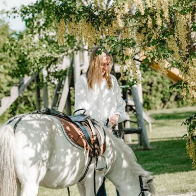 Unser Pony Flecki